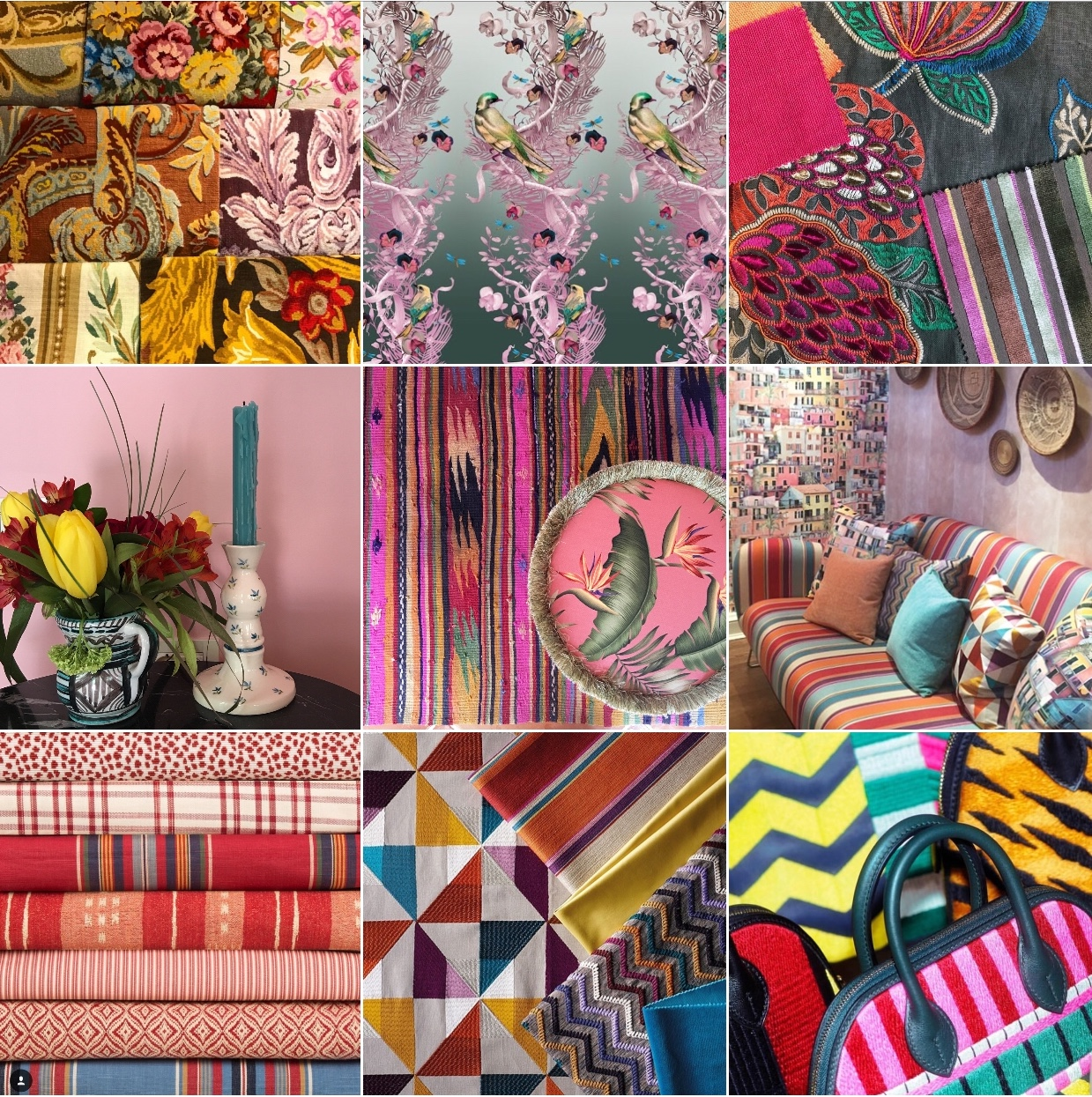 Happy Design @michelleogundehin Instagram moodboard