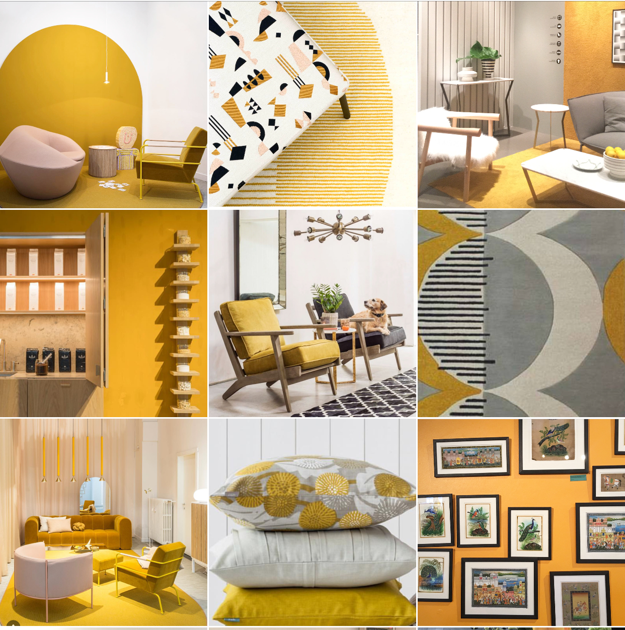 Colour Mustard Yellow Michelle Ogundehin
