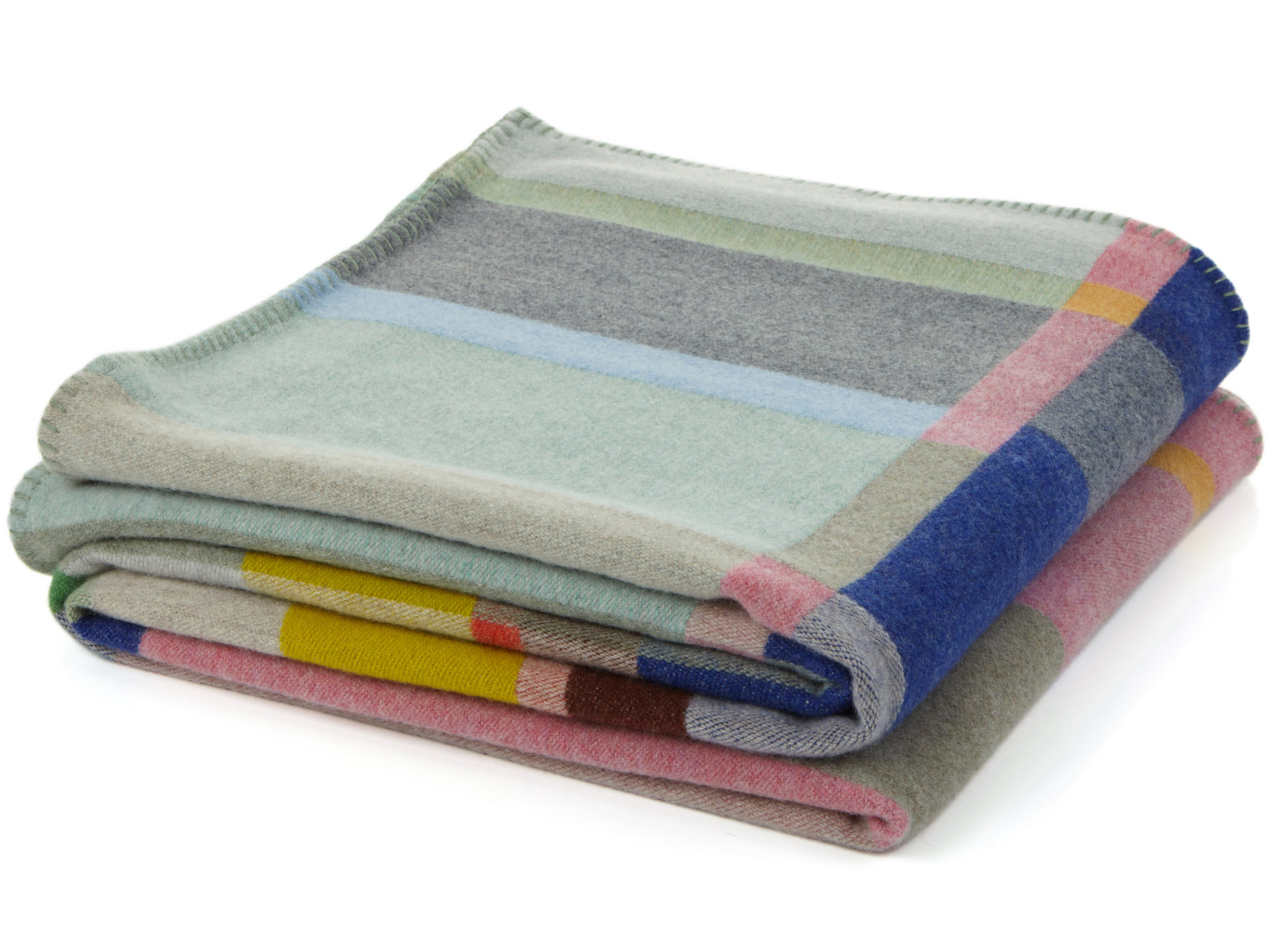 'Lloyd' lambswool throw by Wallace + Sewell, £285.