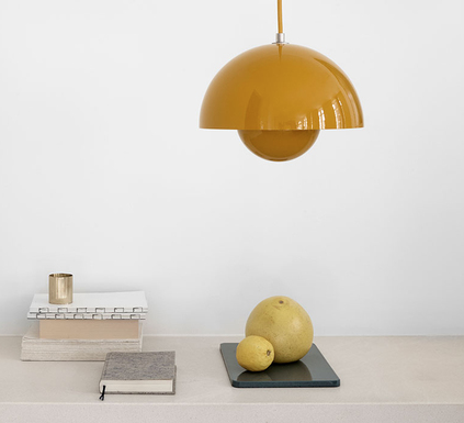 Flowerpot pendant lamp, designed in 1968 by Verner Panton. Available in many other colours too, twentytwentyone