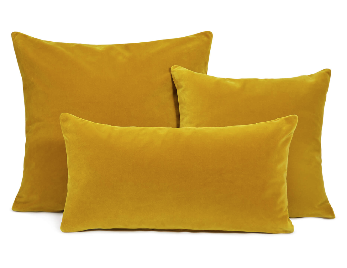 'Monroe' velvet cushions from SohoHome, from £55.