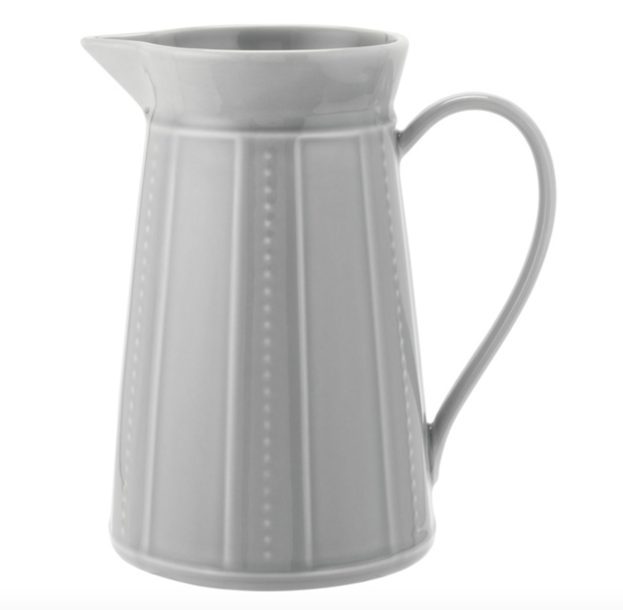 The 'Parisian Maison' grey ceramic jug from Sainsbury's Home collection. £12.
