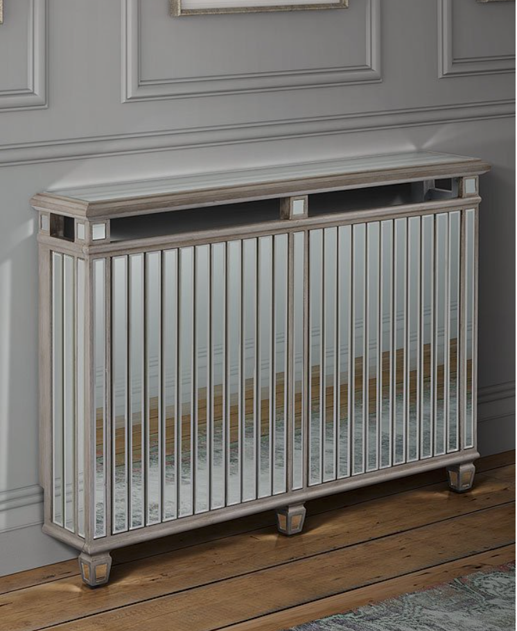 'Antoinette' standard mirrored radiator cover, from MY Furniture, £179.99