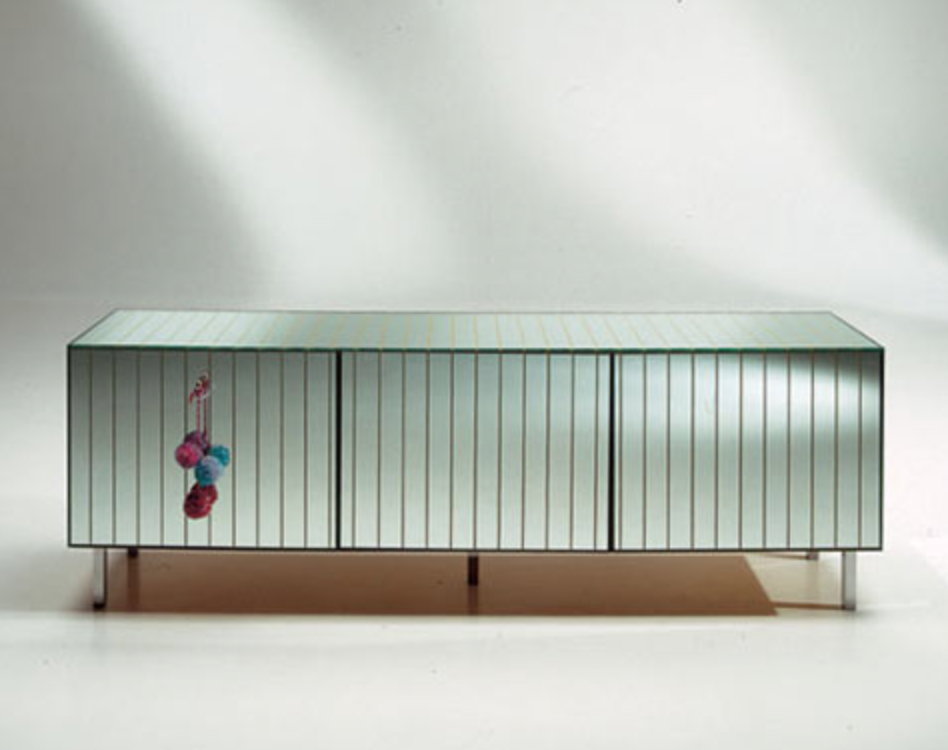 A storage unit from 'The Other' collection designed by Ilse Crawford in 2005 for Baleri Italia.