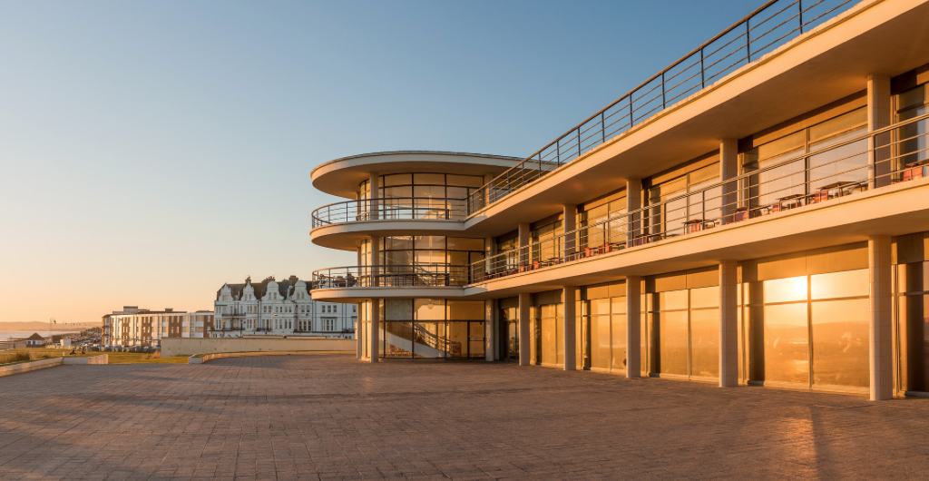 A victim in Agatha Christie's 'The ABC Murders' with Hercule Poirot worked at The De La Warr Pavilion in Bexhill, built in 1935.