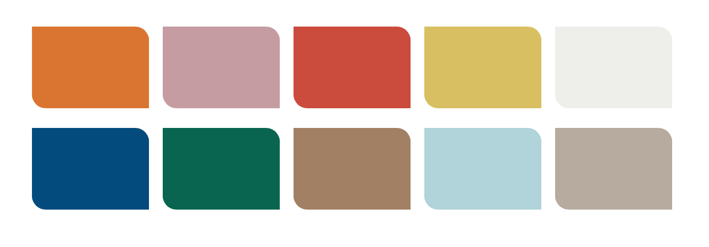 The Dulux 'Bold Brights' palette featuring COTY, 'Spiced Honey'