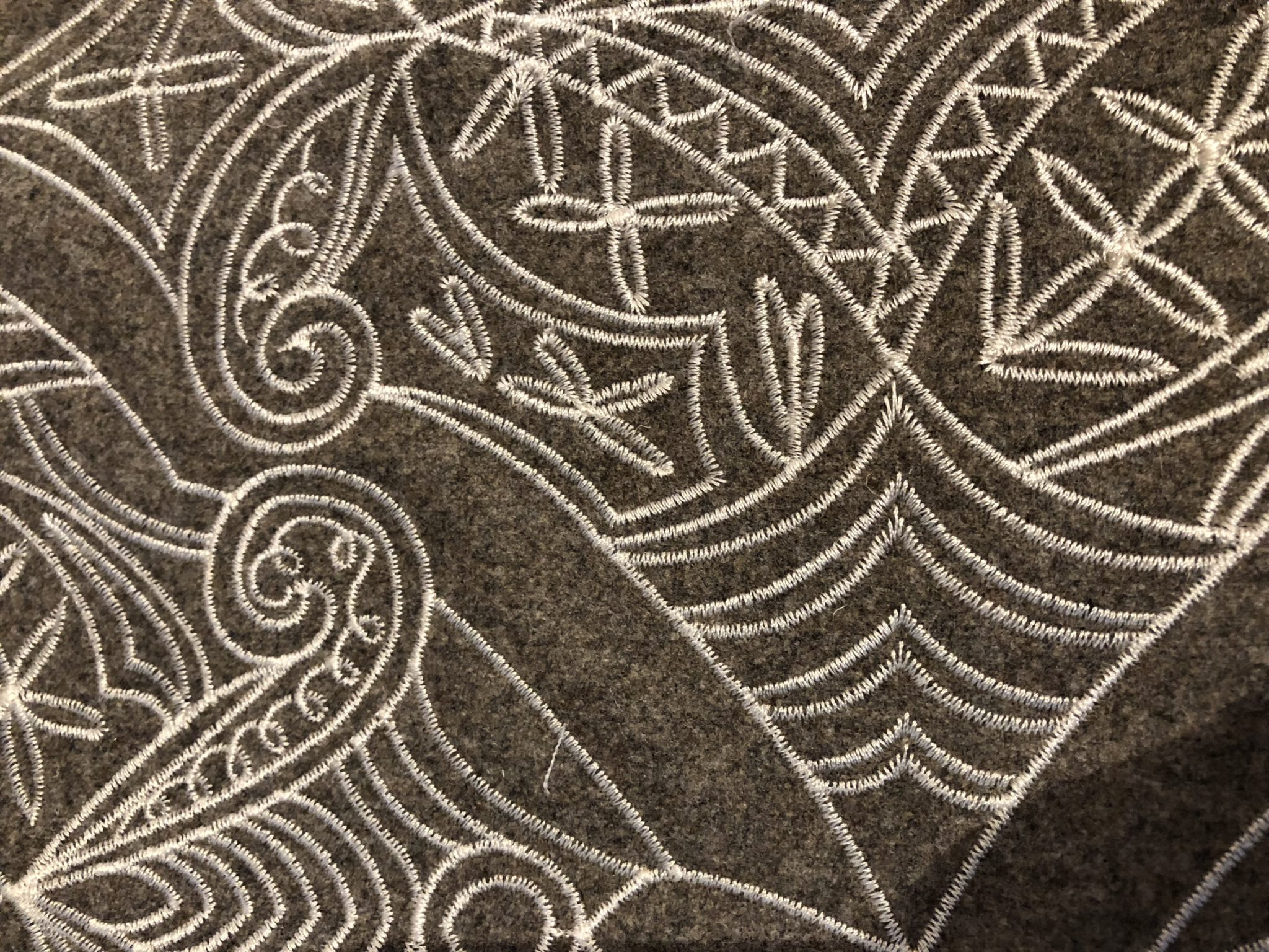 Detail of 'Coronation' (Buckwheat 02) from Brentano at Altfield