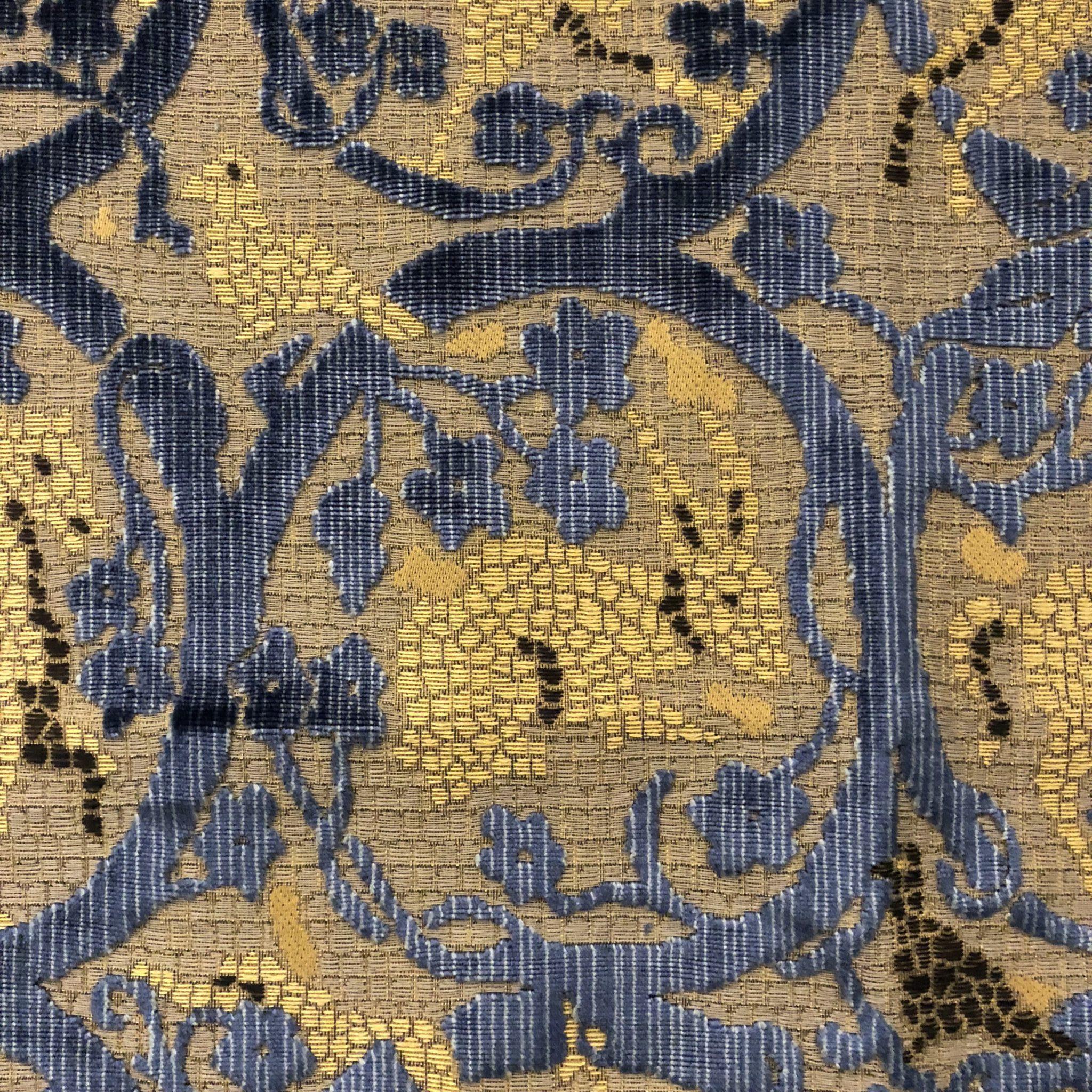 Detail of 'Mosaico' (407/3587) Multicolore Indaco, Luigi Beuilacqua at Alton Brooke
