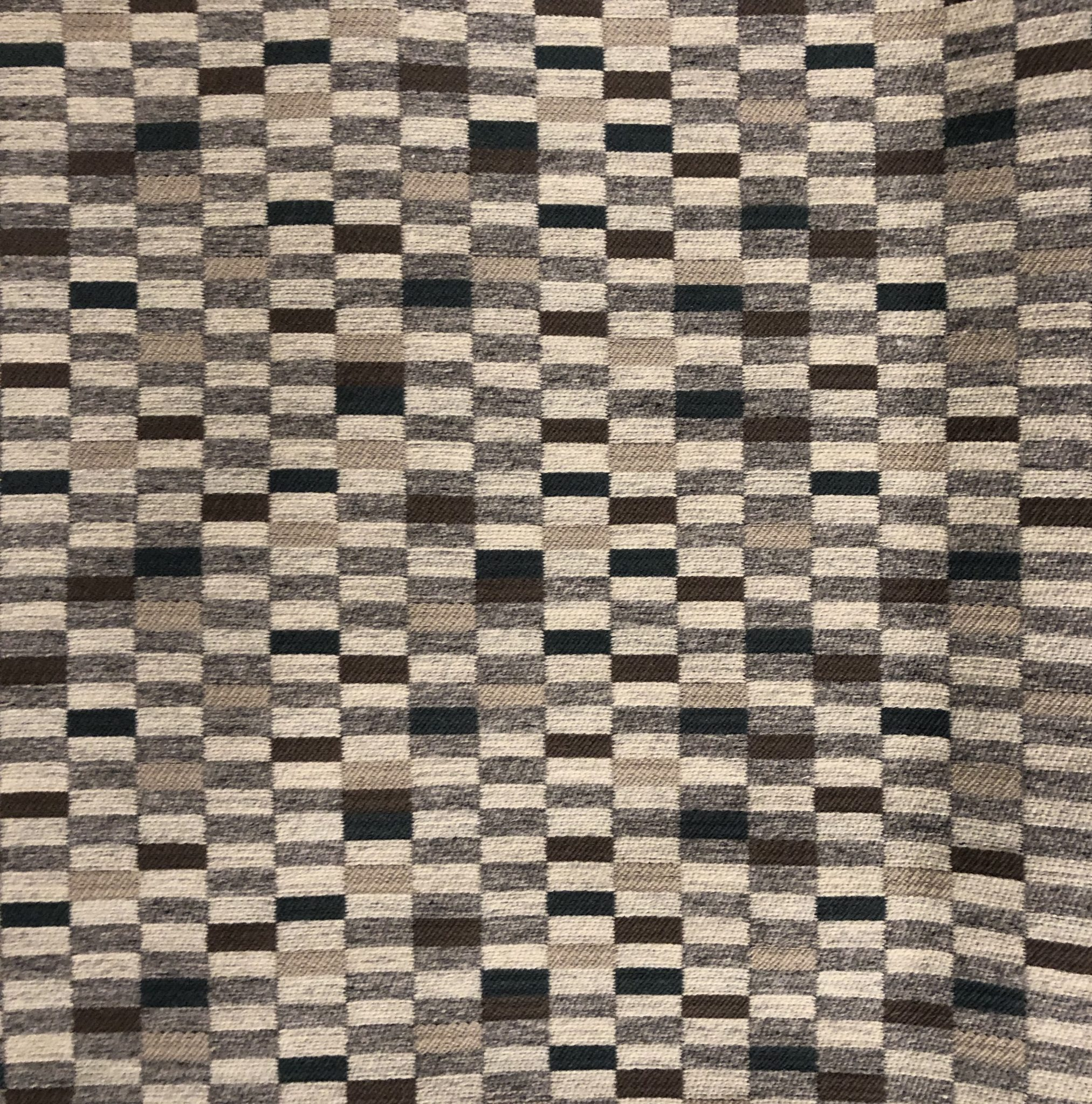 'Tetris' fabric in a Mineral colour way (N9012253002) from Fox Linton
