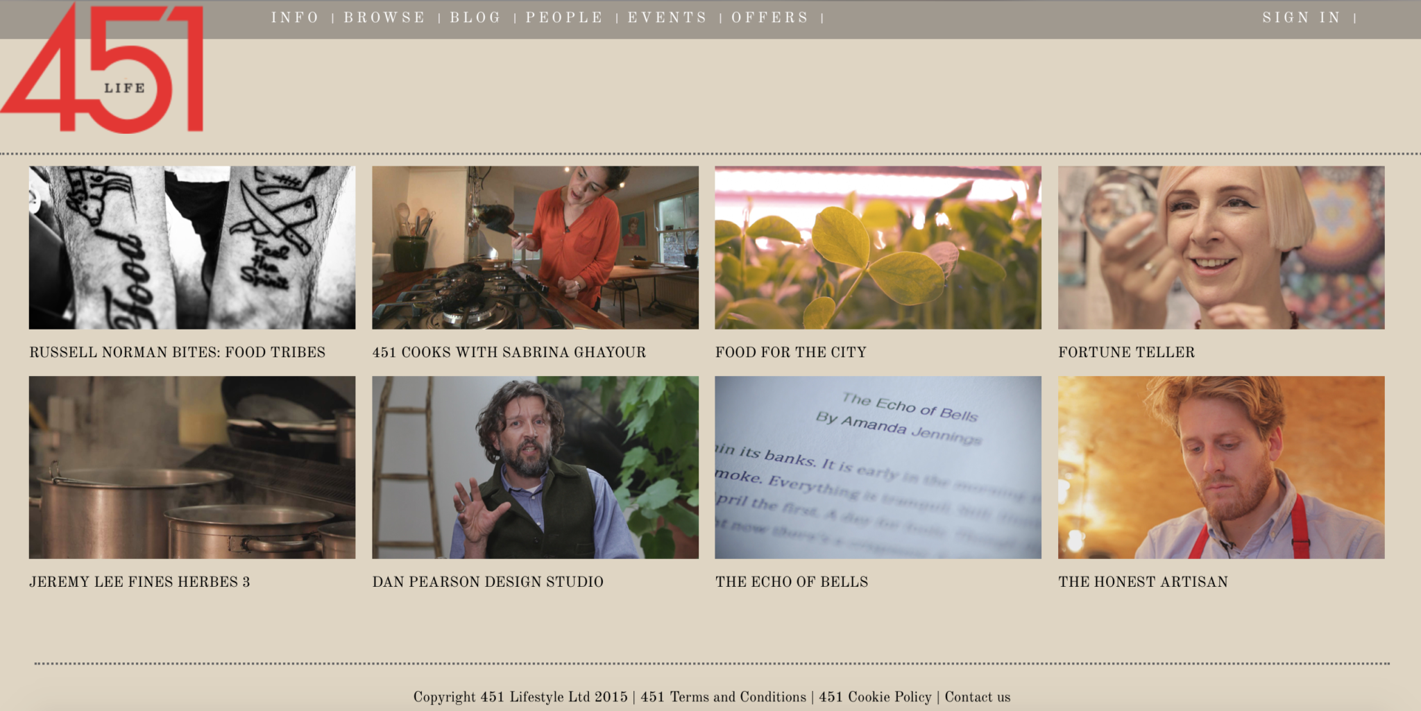 Screenshot of some of the 451life home page.Screenshot of some of the 451life home page.