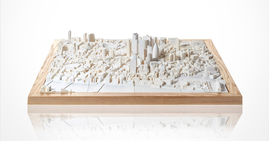 3D London Cityscape, in resin, £495, Chisel & Mouse