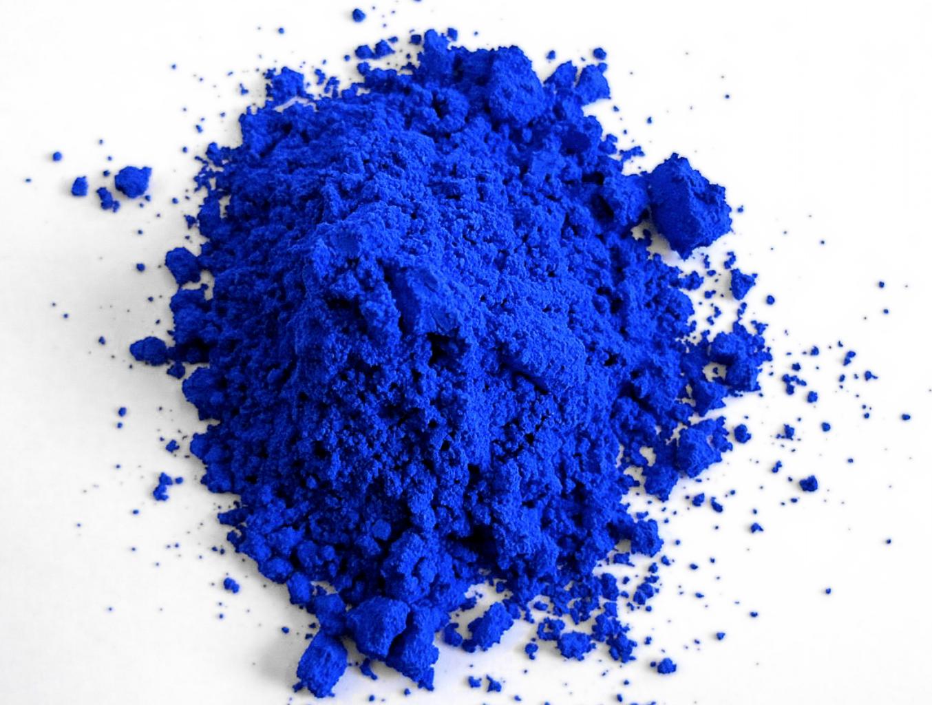 YLnMn Blue pigment