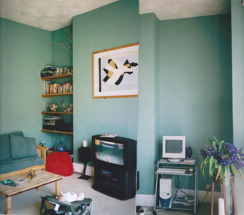 Brighton living room, before...