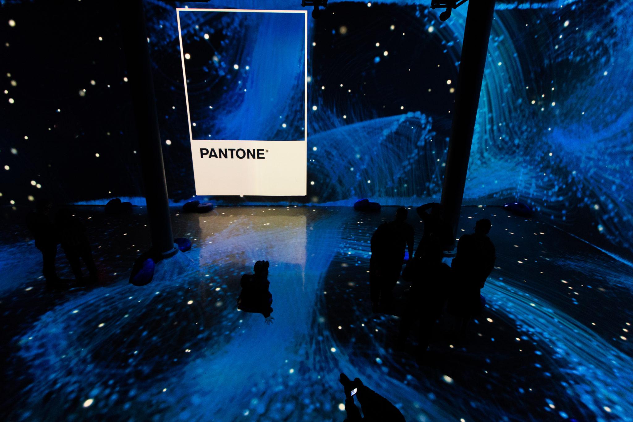 blue pantone colour paint 2020