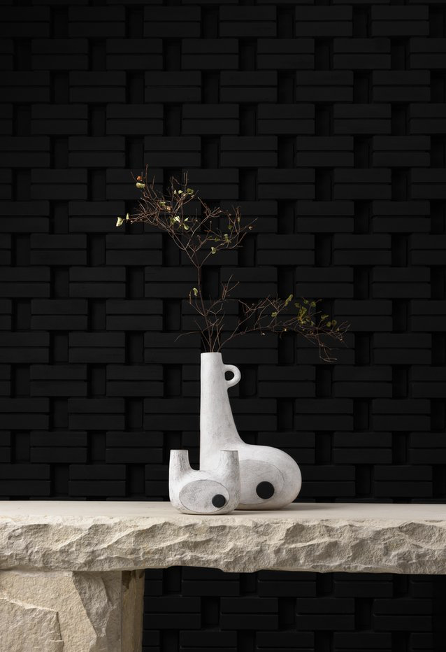 """Objects designed by Faina Design, described as """"live minimalism with natural materials""""."""