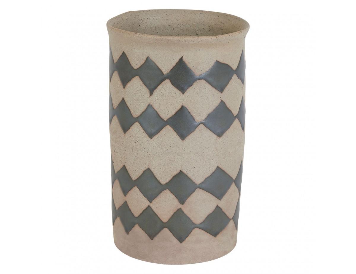 Habitat stoneware vase